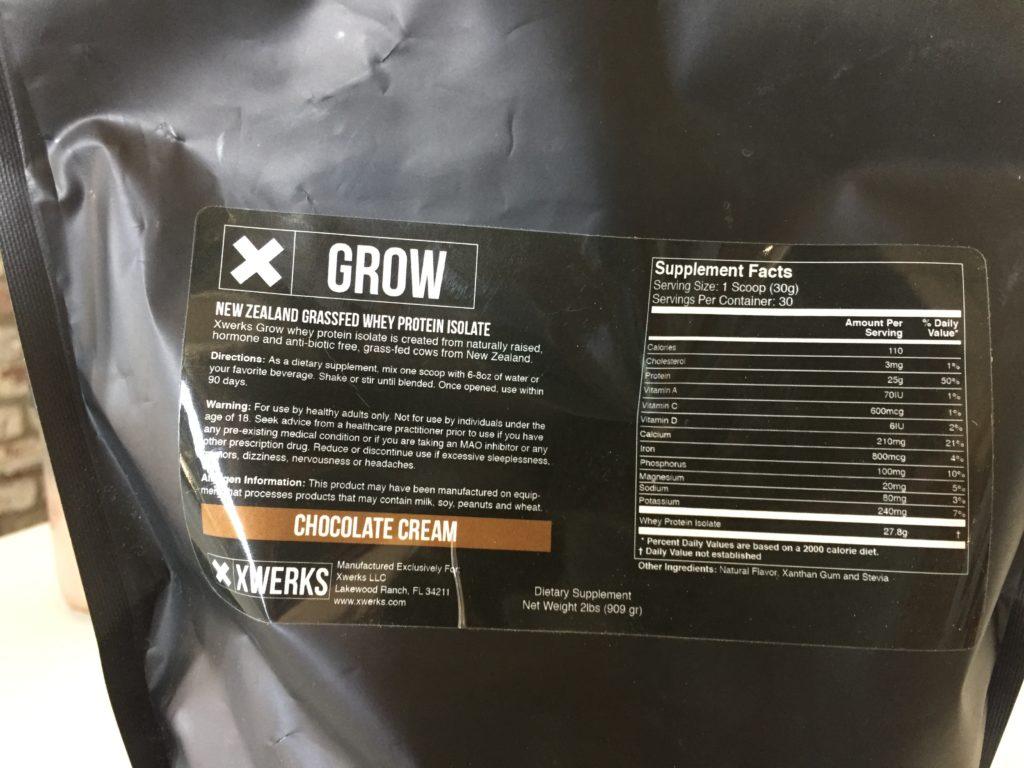 Xwerks Grow Nutrition