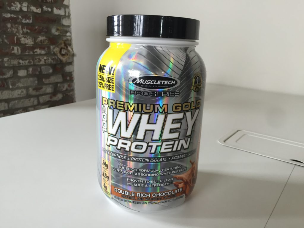 MuscleTech Premium Gold Whey Protein Ingredients