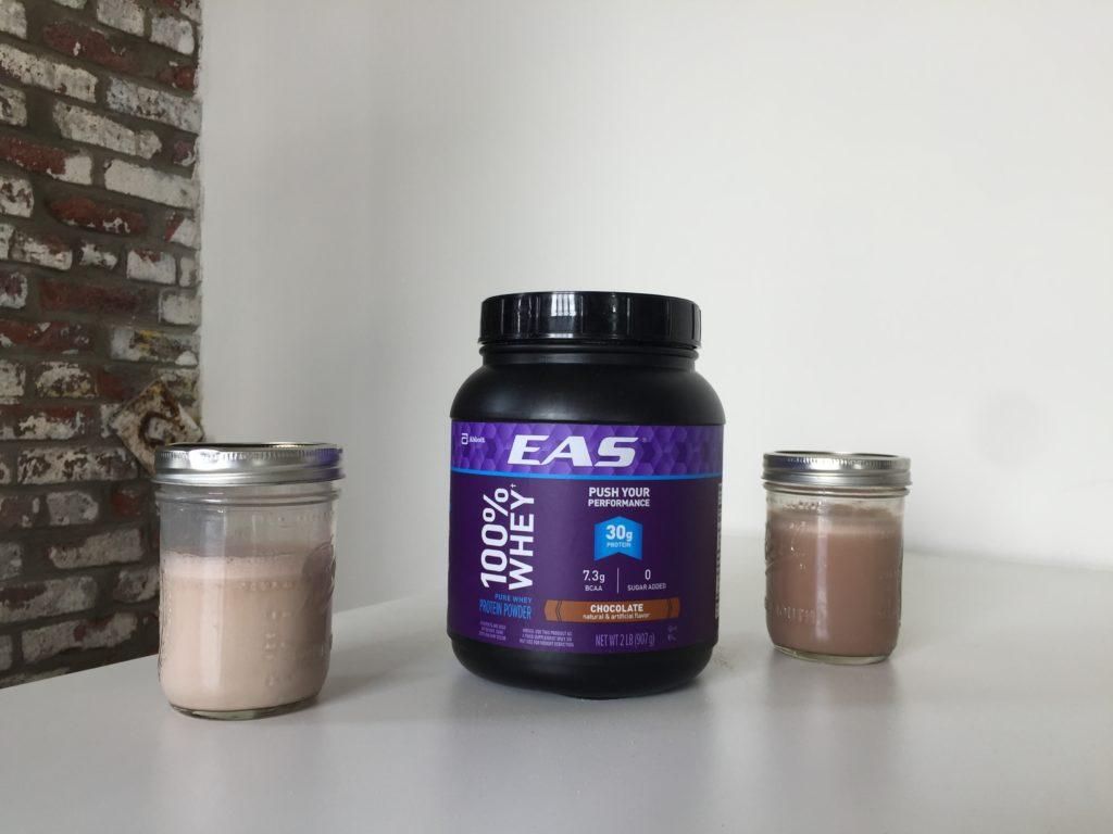 EAS 100% Whey Ingredients