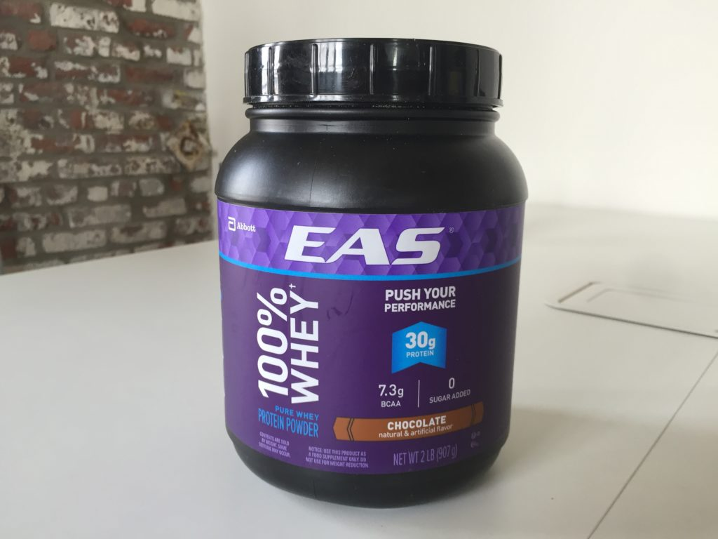 EAS 100% Whey Review