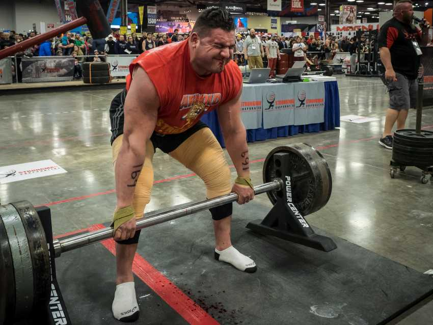 powerlifters on a keto diet