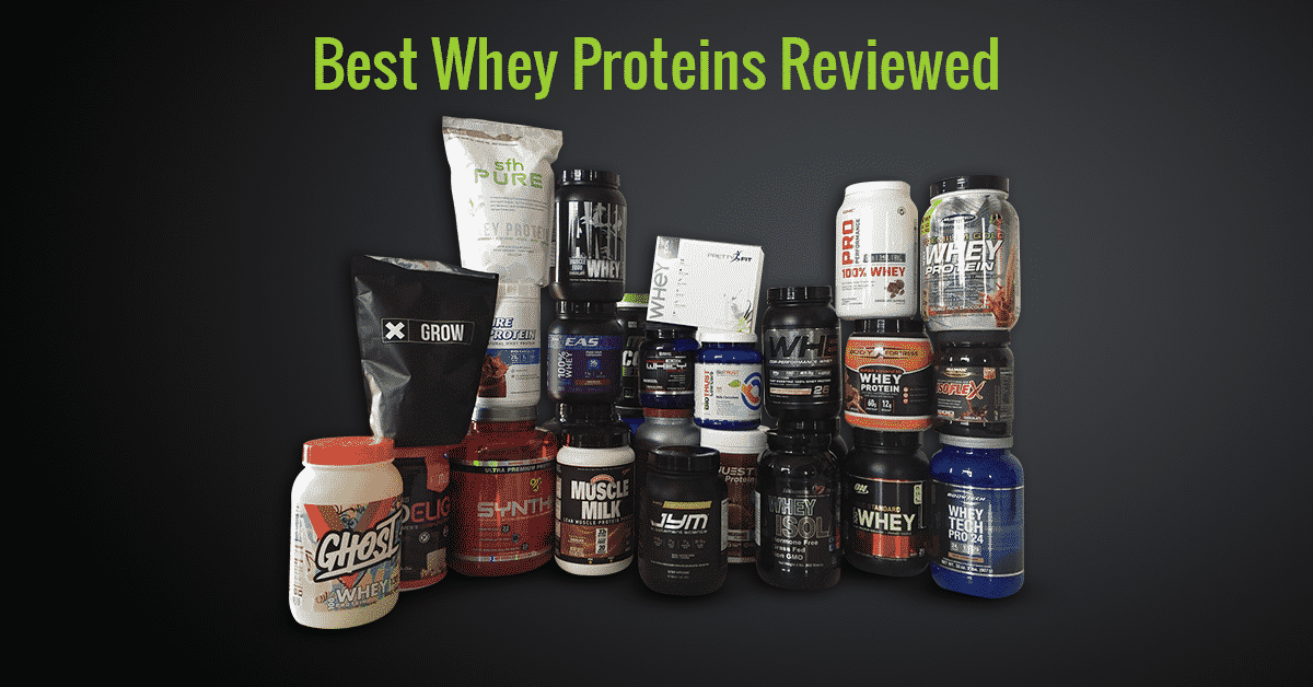 Best protein powders for muscle gain and fat loss