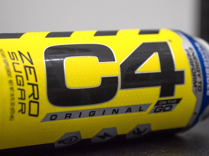 C4 energy drink can