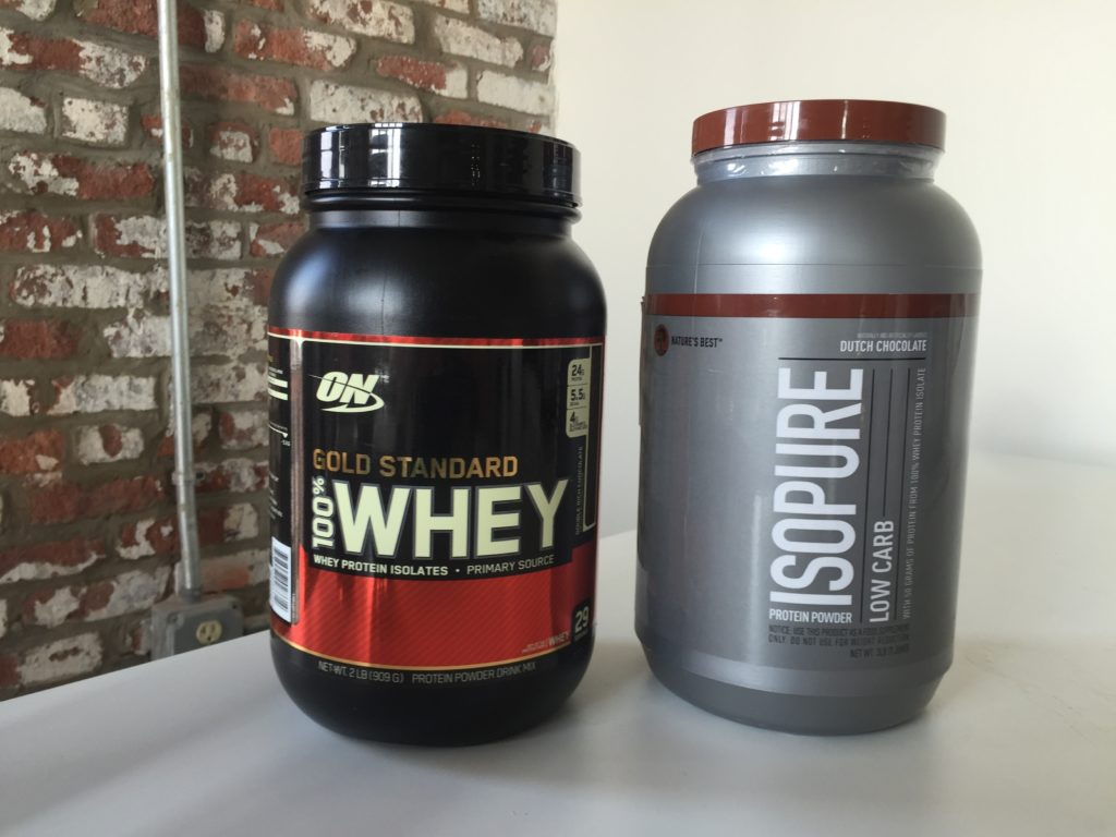 Optimum Nutrition Gold Standard Vs  Isopure Low Carb — Which