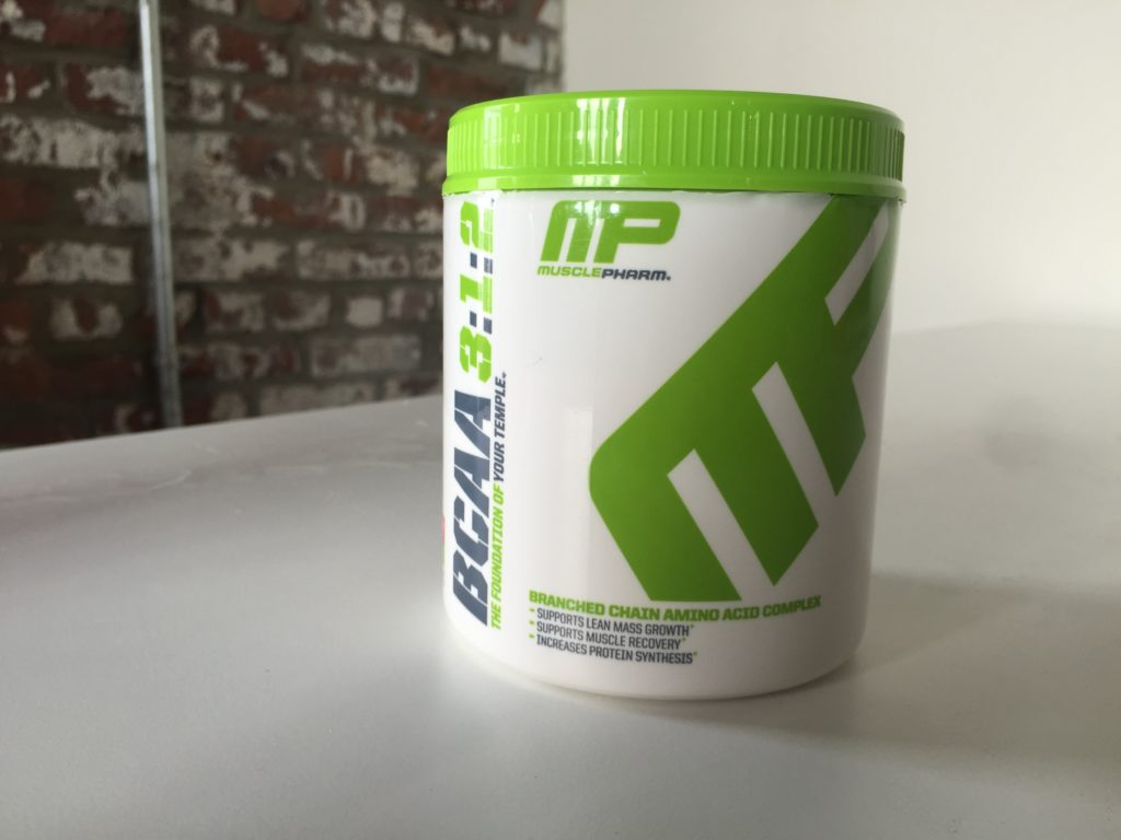 MusclePharm BCAA 312 Review