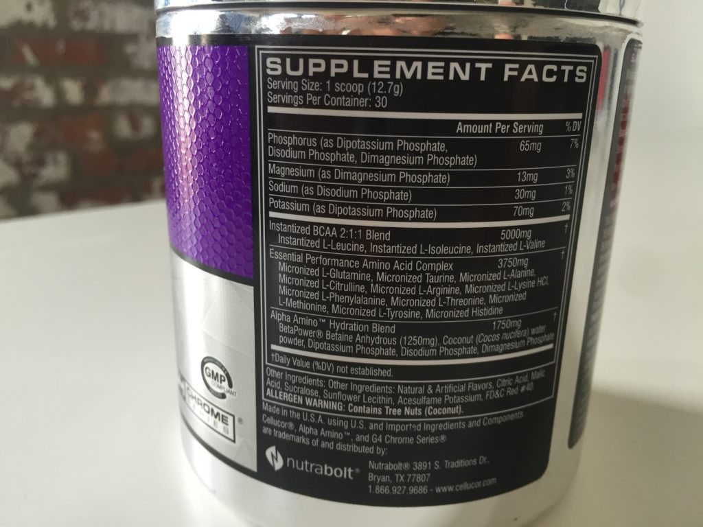 Cellucor Alpha Amino Review — Why All the Extra Amino Acids? - BarBend