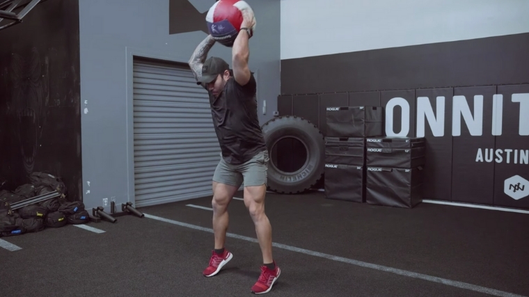 Medicine Ball Slam Step 2