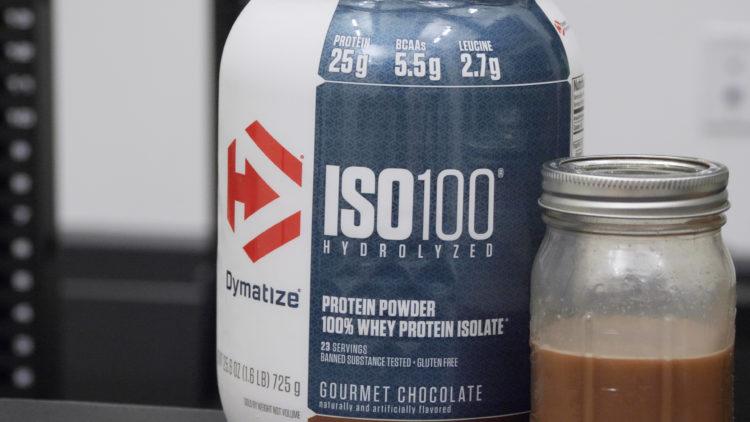 Dymatize Iso 100 shake