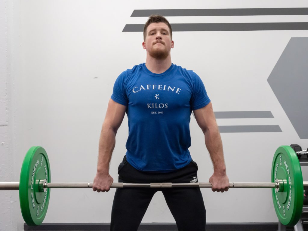Hang Clean Exercise Guide - Chest Up