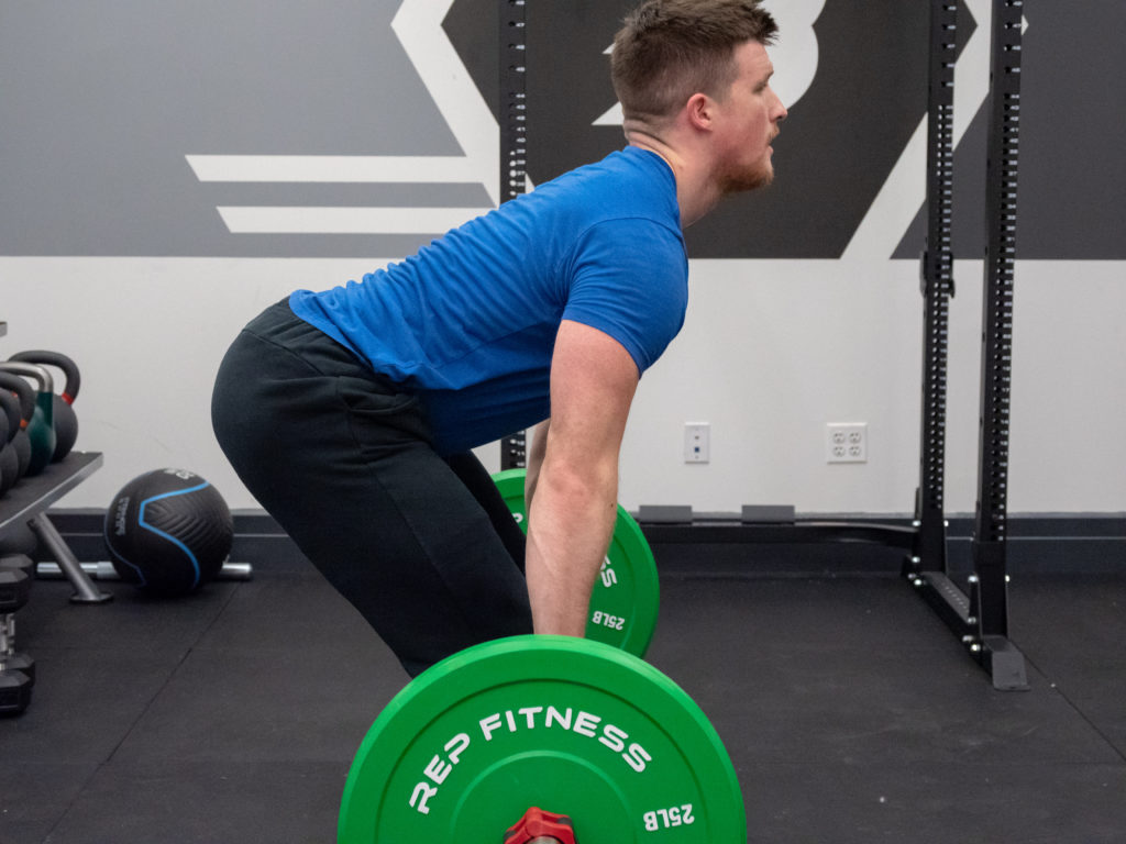 Hang Clean Exercise Guide - Load the Hips