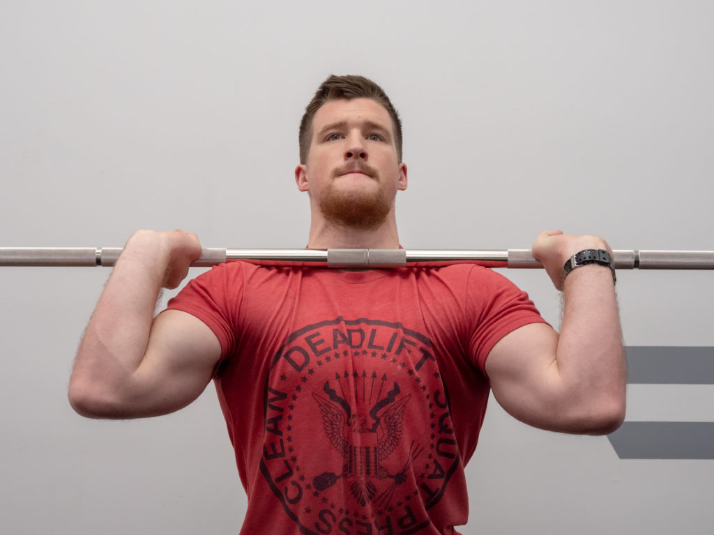 Push Press Form Muscles Worked And How To Guide Barbend
