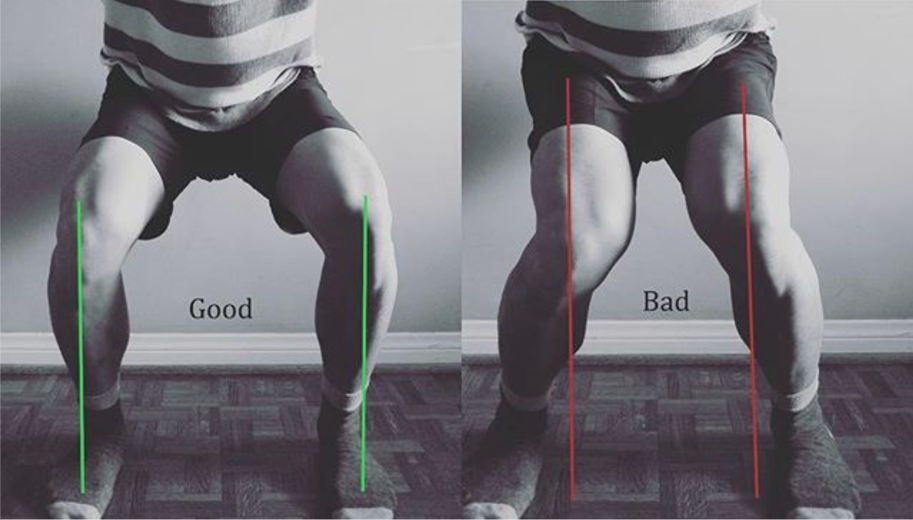 How To Stop Your Knees Caving In When You Squat Barbend