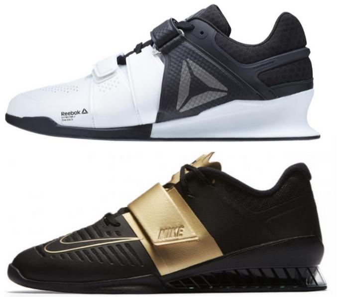 Reebok Legacy Lifter Vs. Nike Romaleos 3 - BarBend f298e13077b8