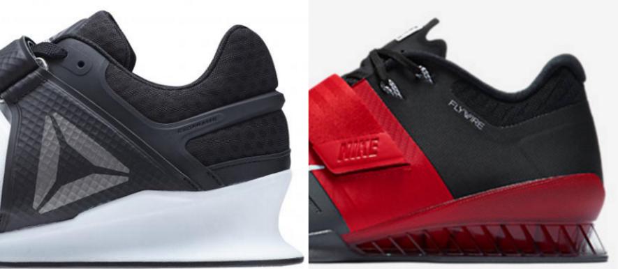 d83f097f7a8 Reebok Legacy Lifter Vs. Nike Romaleos 3 - BarBend