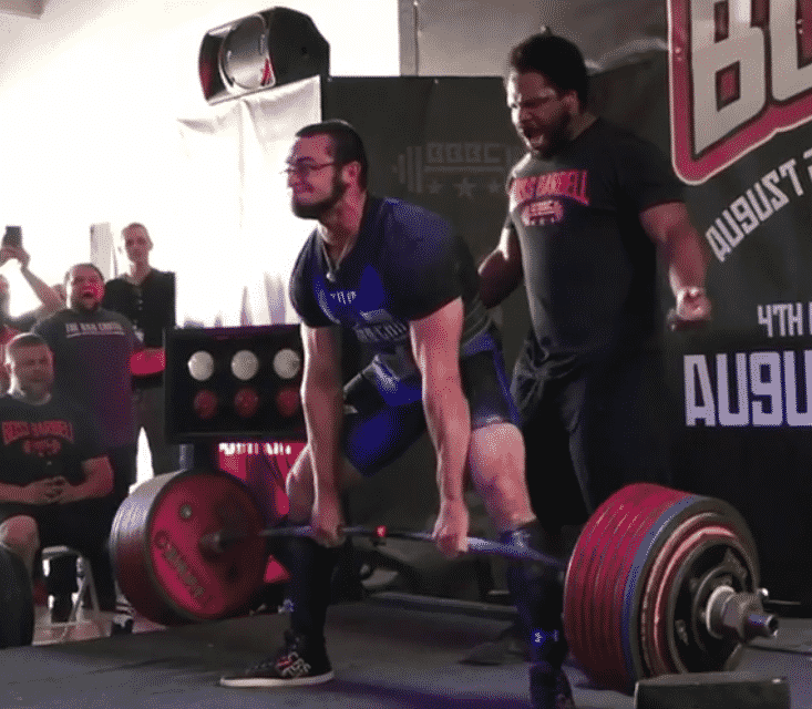 Cailer Woolam Deadlifts 420 5kg (927 lbs) for New All Time Record