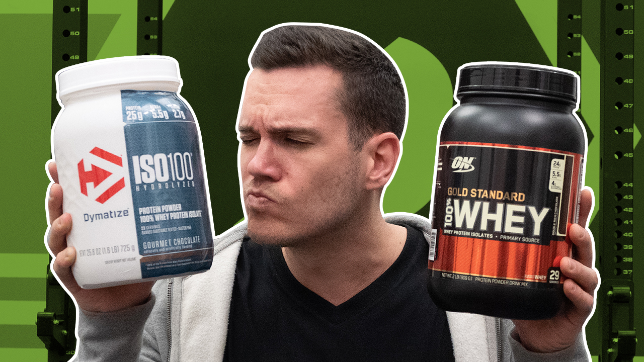 ON Whey Protein vs Dymatize-ISO 100