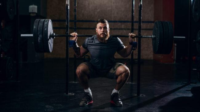 20-rep squats