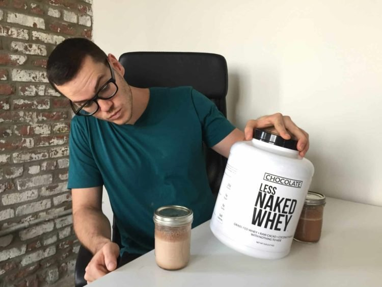 Less Naked Chocolate Flavor protein powder