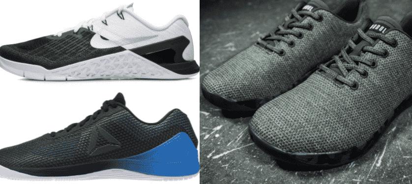 NOBULL vs. Nike Metcon 3 vs. Reebok CrossFit Nano 7 - BarBend cbac17251