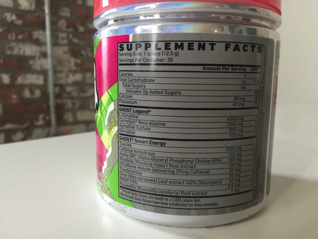 Ghost Legend Pre-Workout Review: What's