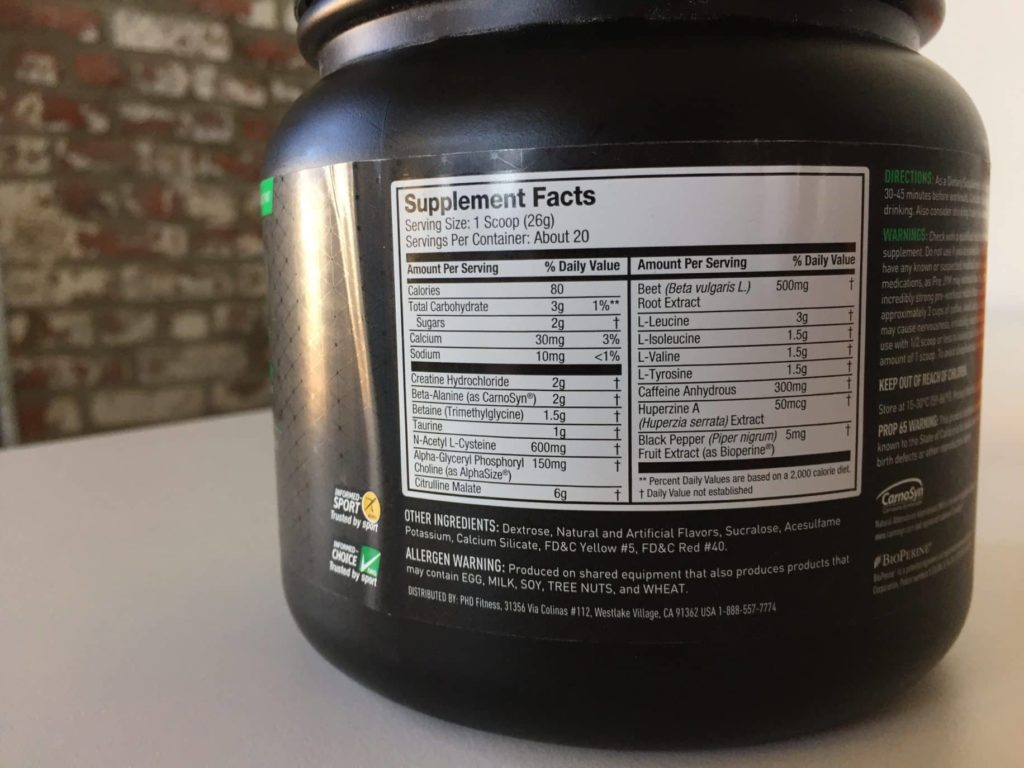 Pre Jym Pre Workout Review Worth The Cost Barbend