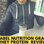Pure Label Nutrition Grass Fed Whey