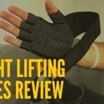 """SEEU Men's/Women's Weight Lifting Glove With 17.5"""" Lifting Strap"""