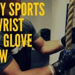 Steely Sports Pro Wrist Wrap Lifting Glove