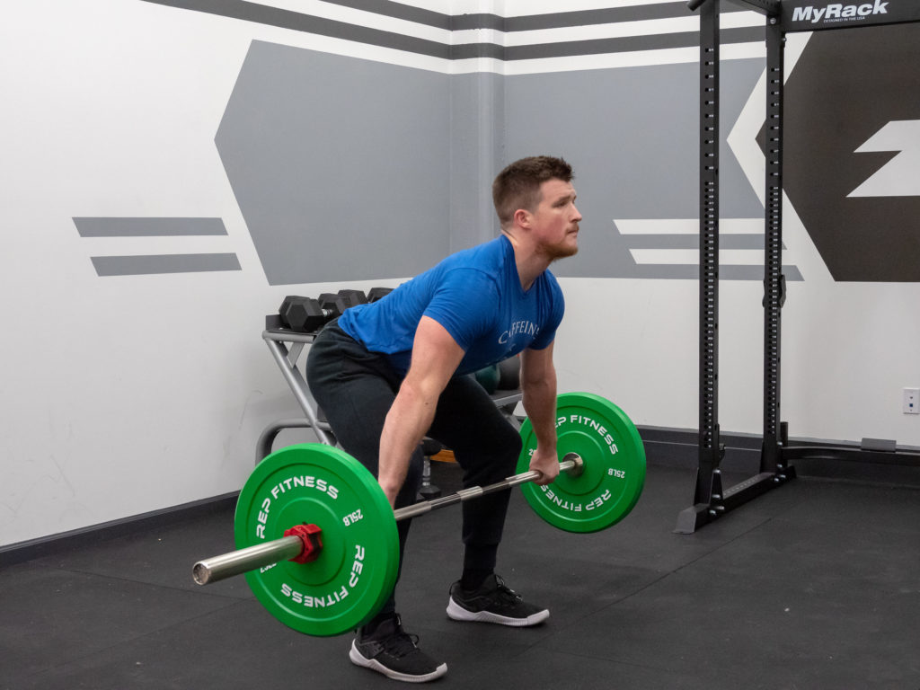 Hang Snatch Exercise Guide - Load the Hips and Legs