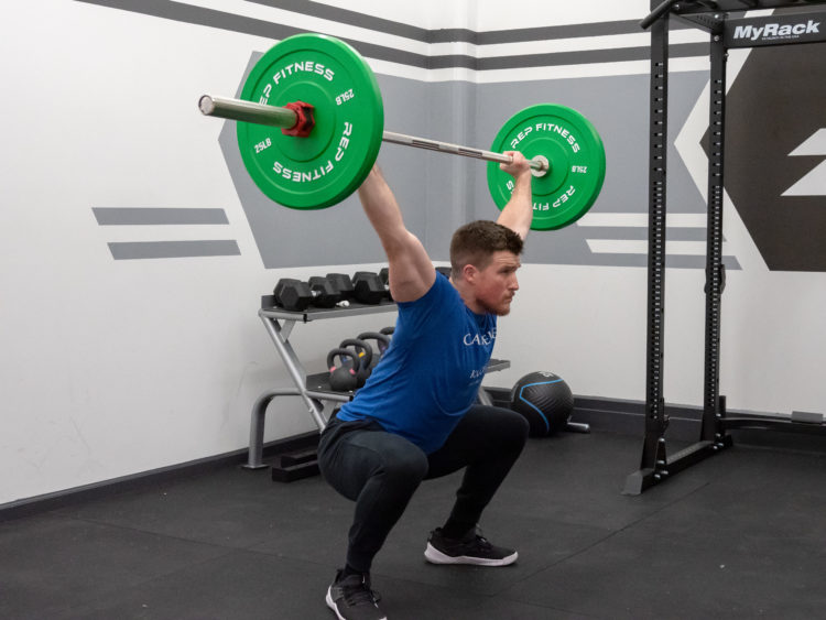 Hang Snatch Exercise Guide - Receive Low and Stable