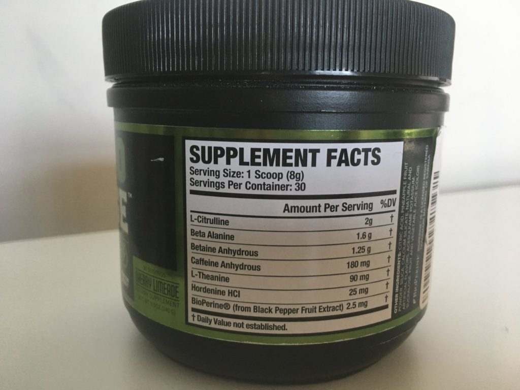 NITROSURGE Pre Workout Review: What Does Hordenine Do? - BarBend