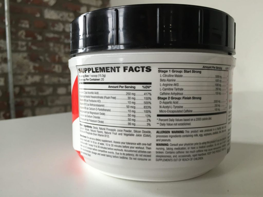 Old School Labs Vintage Blast Review — A Two-Stage Pre-Workout ...