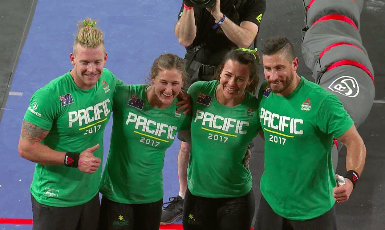 Pacific Team Wins Their First Ever Title At 2017 Reebok