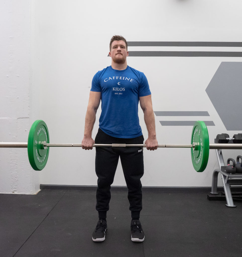 Upright Row Exercise Guide - Stand Tall