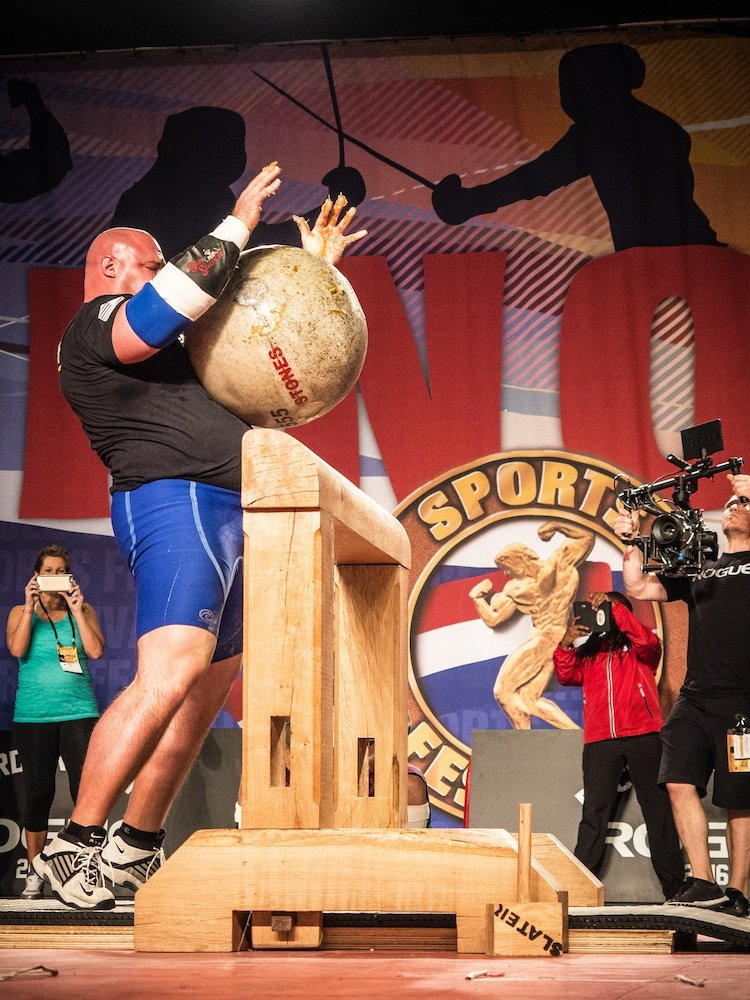 A History of Stone Lifting and Strongman - BarBend
