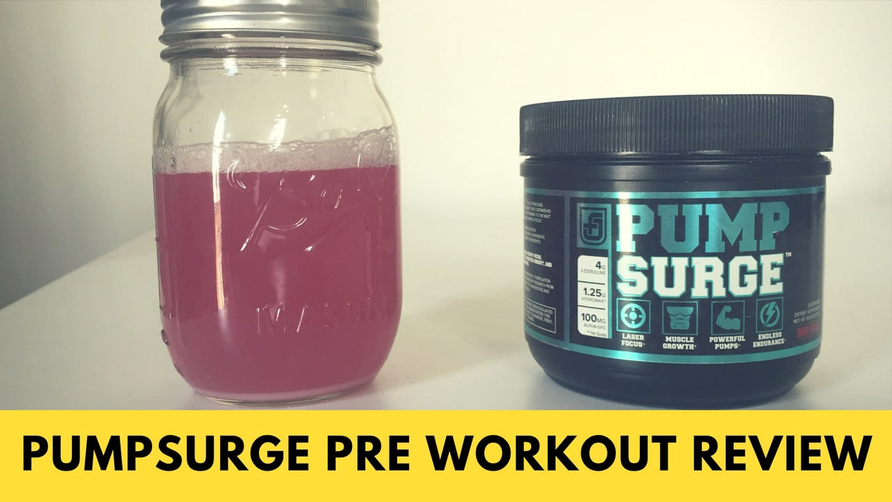 PUMPSURGE Review — A No-Caffeine Pre-Workout? - BarBend