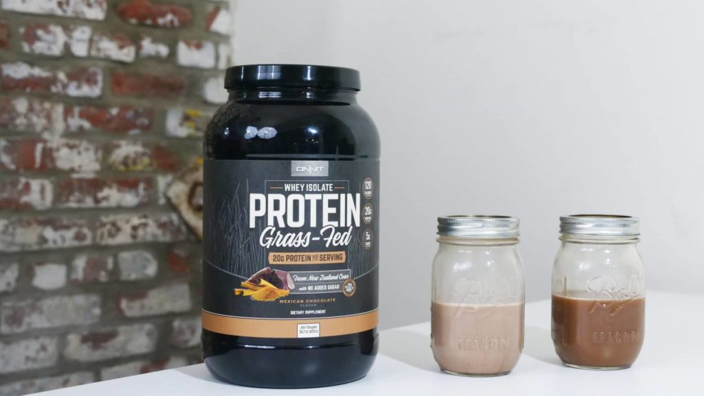Onnit's Grass-Fed Whey Protein