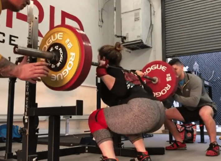 Daniella Melo Squats 205kg Only 1 5kg Under Her World