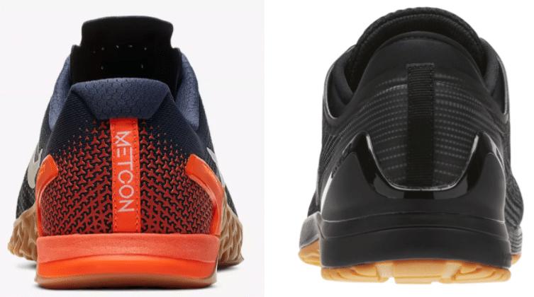 tienda oficial precios de liquidación nuevos especiales Nike Metcon 4 Vs. Reebok CrossFit Nano 8 Flexweave - BarBend