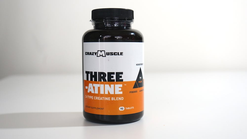 Crazy Muscle Three-Atine Review