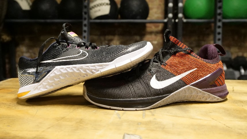 timeless design 4d22c 57994 Nike Metcon 4 Vs. Nike Metcon DSX Flyknit 2 - BarBend