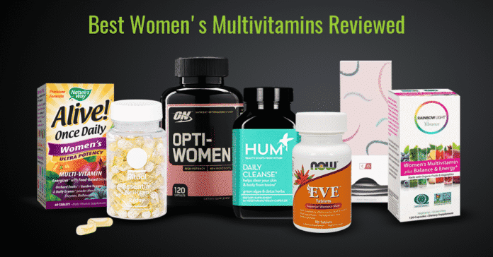 5 Best Women S Multivitamins 2019 Top Vitamin Supplements