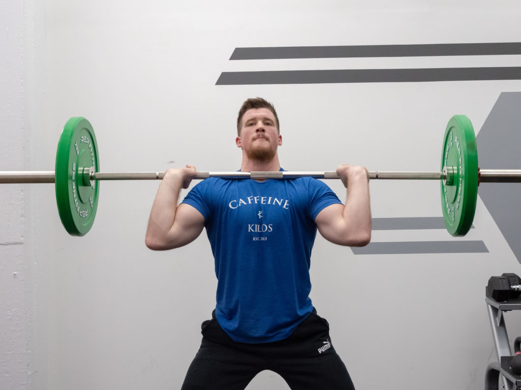 Clean and Jerk Exercise Guide - Jerk Dip