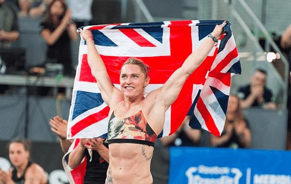 CrossFit Games athlete Samantha Briggs