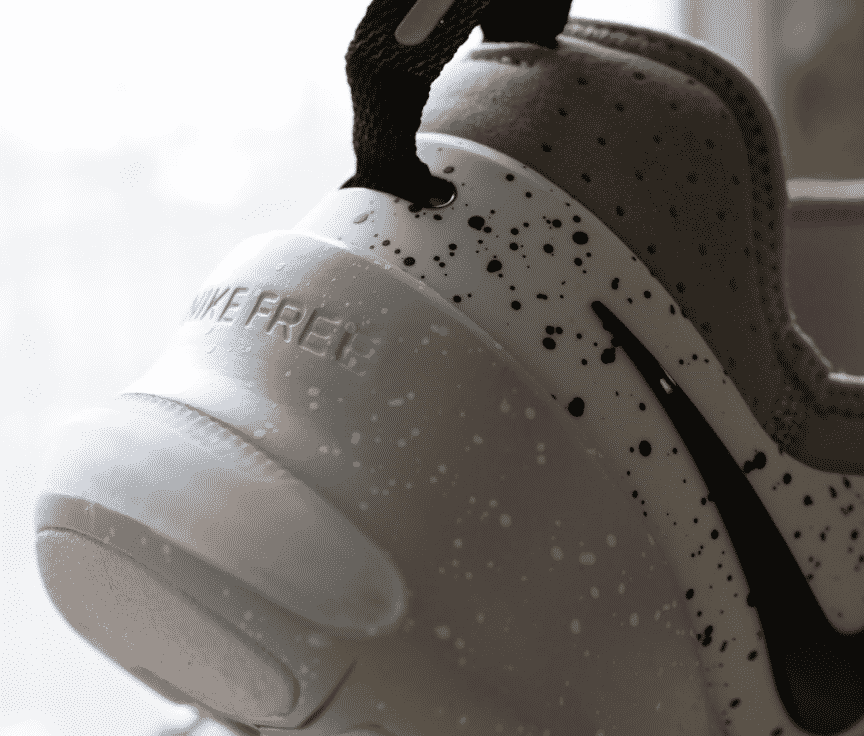 Nike Free x Metcon Heel Construction