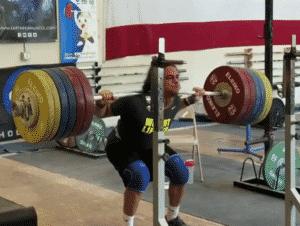 Harrison Maurus Back Squats 275kg