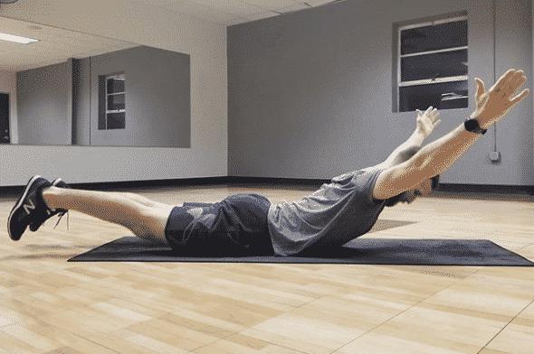 supermans exercise