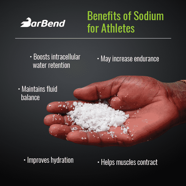Benefits of salt for athletes
