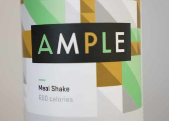 Ample Meal Replacement Label