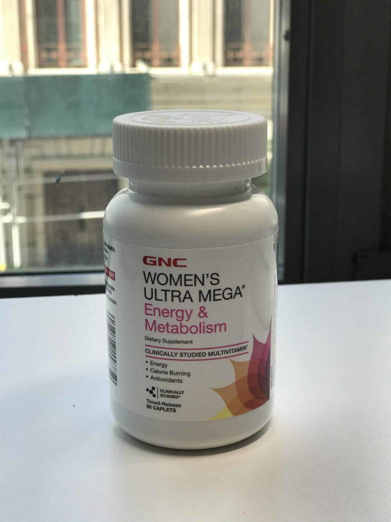 GNC Women's Ultra Mega Energy Metabolism Closeup
